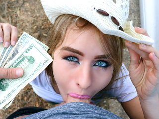 Cute young teen girl Lily Ford gets..